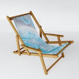 Ocean Foam Mermaid Marble Sling Chair