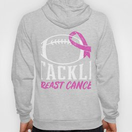 Tackle Breast Cancer, Football Cancer Awareness ShierTackle Hoody