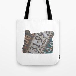 Vintage Oregon Tote Bag