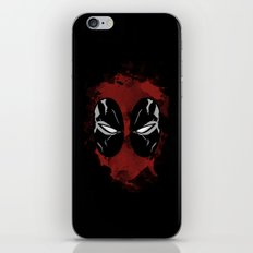 FanArtDeadpool  iPhone & iPod Skin