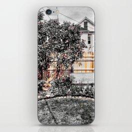 Virgil Avenue Fence iPhone Skin