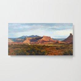 Moab Summer Evening Metal Print
