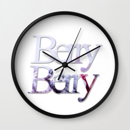 Berry Berry Wall Clock