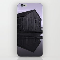 Warehouse Reflection in Lavender iPhone & iPod Skin