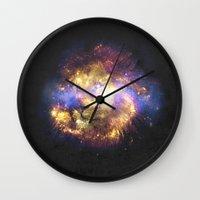 leo Wall Clocks featuring LEO by jerbing