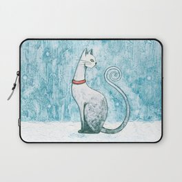 Winter Cat Laptop Sleeve