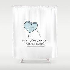 Paracetamor Shower Curtain