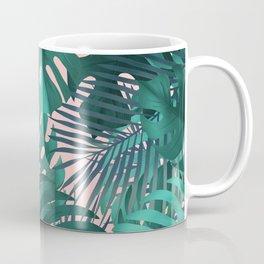 Tropical plants pattern Coffee Mug