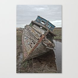 High and Dry 3 Canvas Print