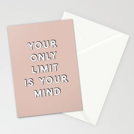 Your Only Limit Stationery Cards