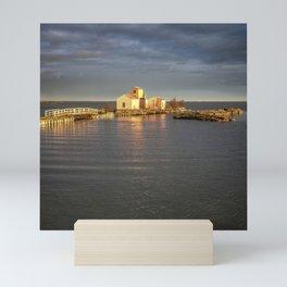 Delta - Sunset Mini Art Print