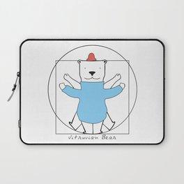 Vitruvian Bear Laptop Sleeve