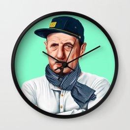Hipstory -  Charles De Gaulle Wall Clock
