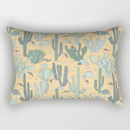 Succulent Guns Rectangular Pillow