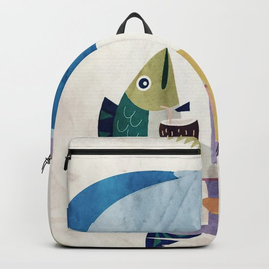 Fischzeit Backpack