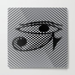 Eye of Horus2 Metal Print