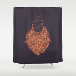Aye Aye Captain Shower Curtain