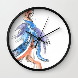 Patterns on Abstract Wall Clock