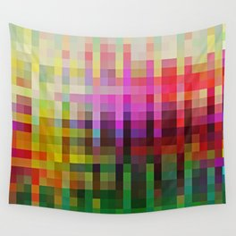 Mosaic Landscape Wall Tapestry