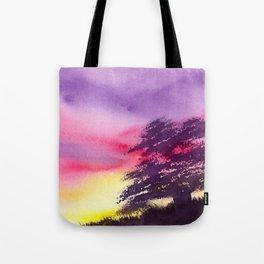 Burst of Twilight Tote Bag