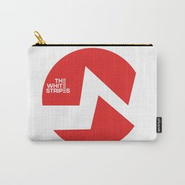 The White Stripes Carry-All Pouch