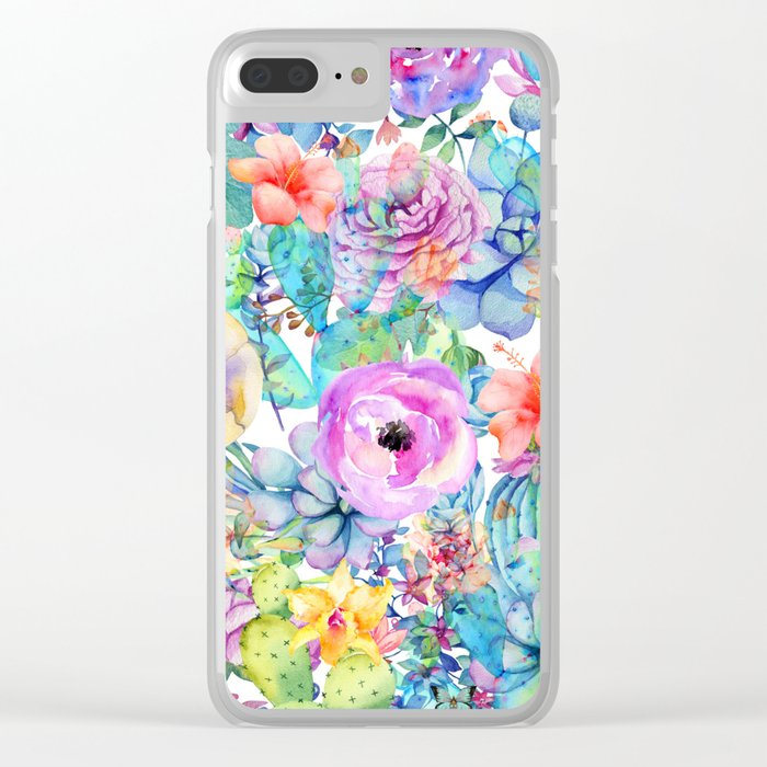 spring blossom i Clear iPhone Case