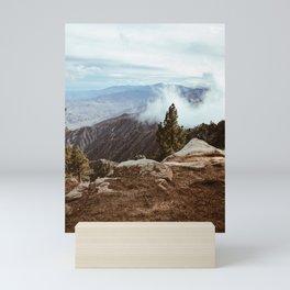 Overlooking Palm Springs Mini Art Print