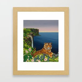 Tigresa Framed Art Print