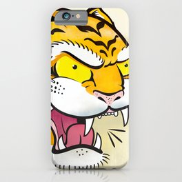 Tiger Tattoo Flash iPhone Case