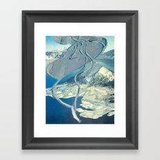 Piste Framed Art Print