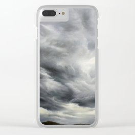 Stormy Sky Clear iPhone Case