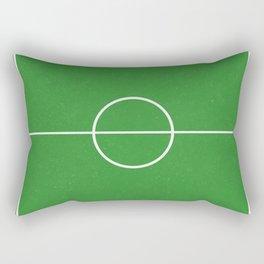 Football Pitch Rectangular Pillow