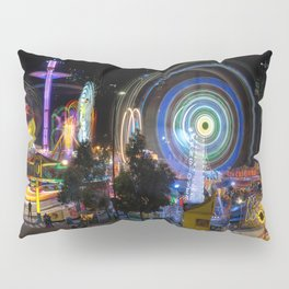 Fairground Attraction panorama Pillow Sham