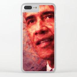 Obama Clear iPhone Case