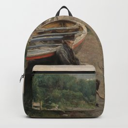 Hans Heyerdahl - View from Åsgårdstrand Backpack
