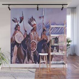 Native American Indian Chief Wall Mural