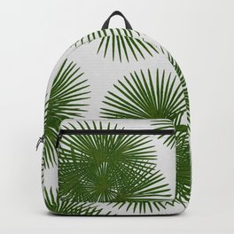 Fan Palm, Tropical Decor Backpack