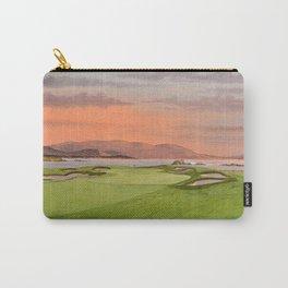 Pebble Beach Golf Course Hole 17 Carry-All Pouch