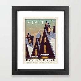 Visit Hogsmeade Framed Art Print