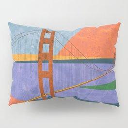 Golden Gate Bridge II Pillow Sham