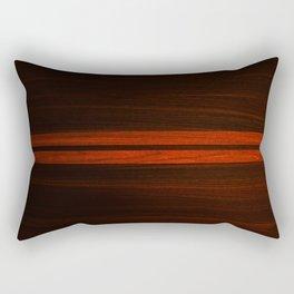 Wooden Striped Oak case Rectangular Pillow