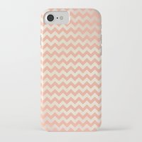 peach iPhone & iPod Cases featuring Peach by C Designz
