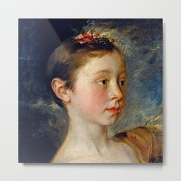 "Thomas Gainsborough ""Mary and Margaret Gainsborough, the artist's daughters"" Metal Print"