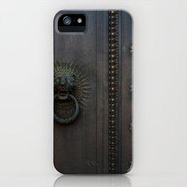 Dark Entry  iPhone Case