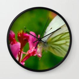 Butterfly's inn ... Wall Clock