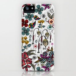 Floral Inspiration iPhone Case