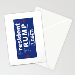 resident rump Stationery Cards