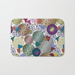 Penrose Tiling Inspiration Bath Mat