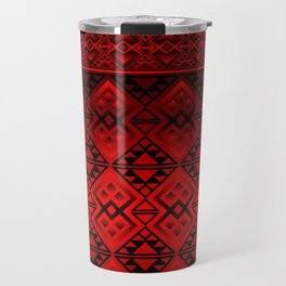 The Lodge (Red) Travel Mug