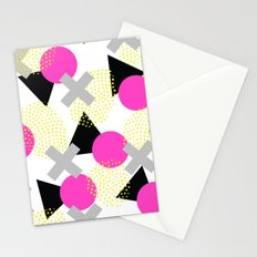 Summer Pop Geometry Stationery Cards